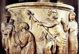 dionysus greek god statue pine cone greek god dionysus
