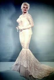 jayne mansfield wedding dress jayne mansfield in wedding dress for marriage to mickey