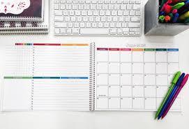 2017 monthly desk calendar 8 5x11 medium desk