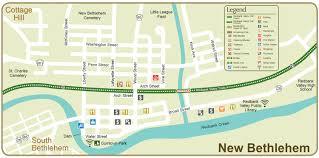 Map Of Western Pa Maps U2013 Redbank Valley Trail Association New Bethlehem Pa