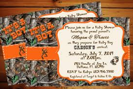camouflage baby shower pink realtree camo baby shower invitations mossy oak blank