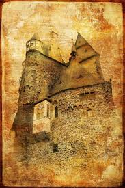 2418 best wall stickers and murals images on pinterest wallmonkeys burg eltz castle in germany picture in retro style peel and stick wall decals