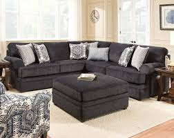 american freight black recliner sofa set bellamy slate 2 pc sectional sofa