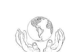 map of the world in the hands illustrations creative market