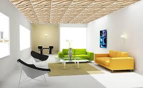 Drop Ceiling Styles by 3d Drop Ceiling Panels Contemporary False Ceiling Design Trends