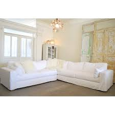 Shabby Chic Style Beige Living by Soho Sectional From Rachel Ashwell Shabby Chic Couture For My