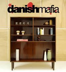 Mid Century Modern Bookcase Mid Century Danish Modern Rosewood Office Bookcase Shelf Display
