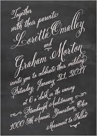 Chalkboard Wedding Programs Pocket Wedding Invitations By Basic Invite