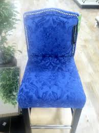 blue cynthia rowley chair my dining room chairs farmhouse