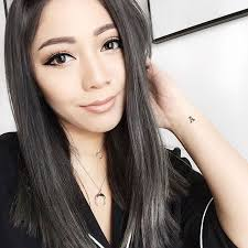 black grey hair the 25 best dark grey hair charcoal ideas on pinterest which is