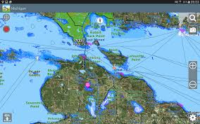 Lake Michigan Depth Map by Aqua Map Michigan Great Lakes Android Apps On Google Play