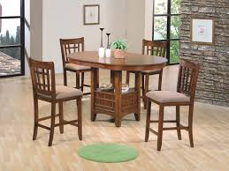 kitchen bar height dining table counter high dining set high top