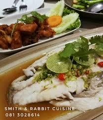 cuisine smith เน อปลากะพงน งมะนาว เน อปลาแน นๆ ไร ก าง น ำราดรสจ ดจ าด เราใช