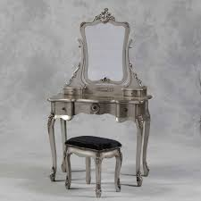 french style dressing table cheap antique silver painted french style dressing table mirror stool set