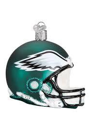 philadelphia eagles home decor philadelphia eagles helmet glass ornament