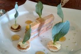 cuisiner l anguille terrine de foie gras et d anguille fumée dans une forêt d huître