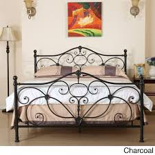 marcus queen metal bed by christopher knight home metal beds
