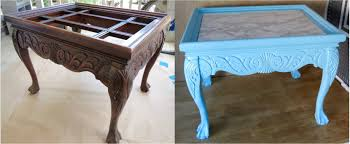 diy upcycled how to redo trash to treasure end table youtube