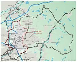 map of oldham oldham west royton map