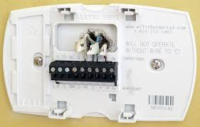 how to install or replace a thermostat hvac repair guide acme