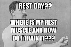 Sore Muscles Meme - a rest day workout for climbers who hate rest days