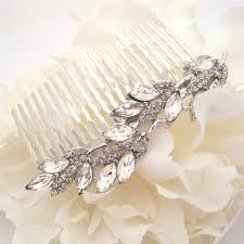 wedding hair comb simple wedding hair comb bridal hair comb rhinestone hair comb