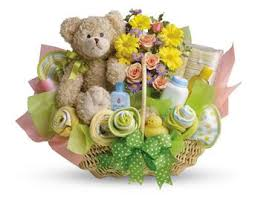 gift baskets for new parents new baby flowers and gift ideas