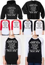 shirt american horror story ahs freak show ahs freak show shirt