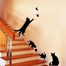 Cheap Wall Mural Online Get Cheap Wall Mural Wallpaper 3d Cat Aliexpress Com