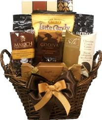 Gourmet Gift Basket Coffee And Chocolate Lovers Gourmet Gift Basket U2013 Delight Expressions