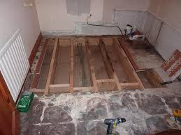 Rotten Bathroom Floor - fitting new bathroom floor u0026 bathroom suite in naas