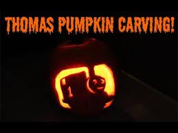 thomas tank engine halloween pumpkin carving