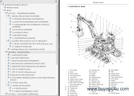 fiat kobelco e9sr evolution mini excavator pdf manual