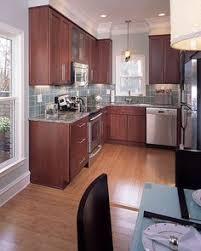 Small Kitchen Interiors Warm Modern Kitchen Design Ideas And Unique Accents Personalizing
