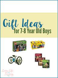 gift ideas for 7 8 year boys