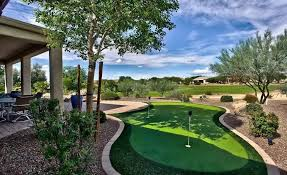 Putting Green In Backyard by 25 Golf Backyard Putting Green Ideas Designing Idea