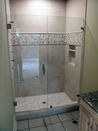 custom glass shower doors favorable frameless glass shower doors