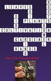flower crossword clue one plants answer depiction dreamy tree with