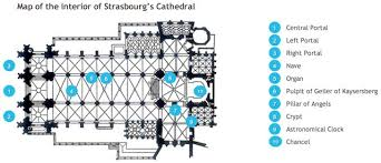 reims cathedral floor plan strasbourg cathedral french moments