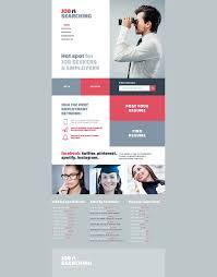 job seekers website template