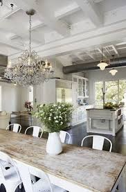rustic chic dining room ideas homes abc