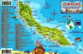 Map Caribbean by Curacao Maps Caribbean Islands Maps Central America U0026 The