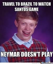 Neymar Memes - bad luck neymar by manutd forever meme center