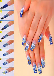 42 best acrylic nail 3d flowers images on pinterest flower nails