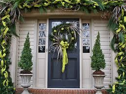 christmas front door decorations u2013 happy holidays