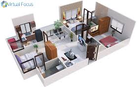 Bhk Means by Virtual Focus Studios 3d 2d Design Rendering Animation U0026 Web