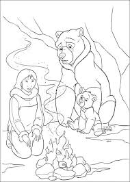 kids fun 58 coloring pages brother bear 2