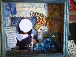graduation shadow box altered shadowbox graduation gift