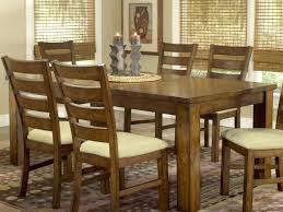 Solid Wood Dining Table Set  KIurtjohnsonco - Dining table size for 8 chairs