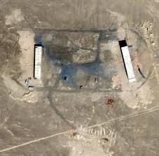 Google Maps Area 51 Militärisches Sperrgebiet Geheimnisvolle Luftbilder Zeigen